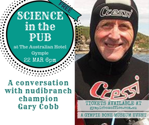 science in the pub with nudibranch champion gary cobb